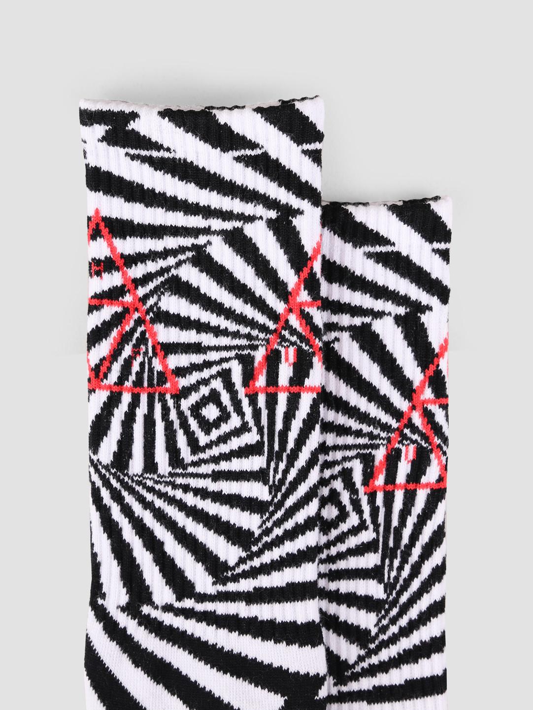 HUF HUF Trance Triangle Sock White SK00423