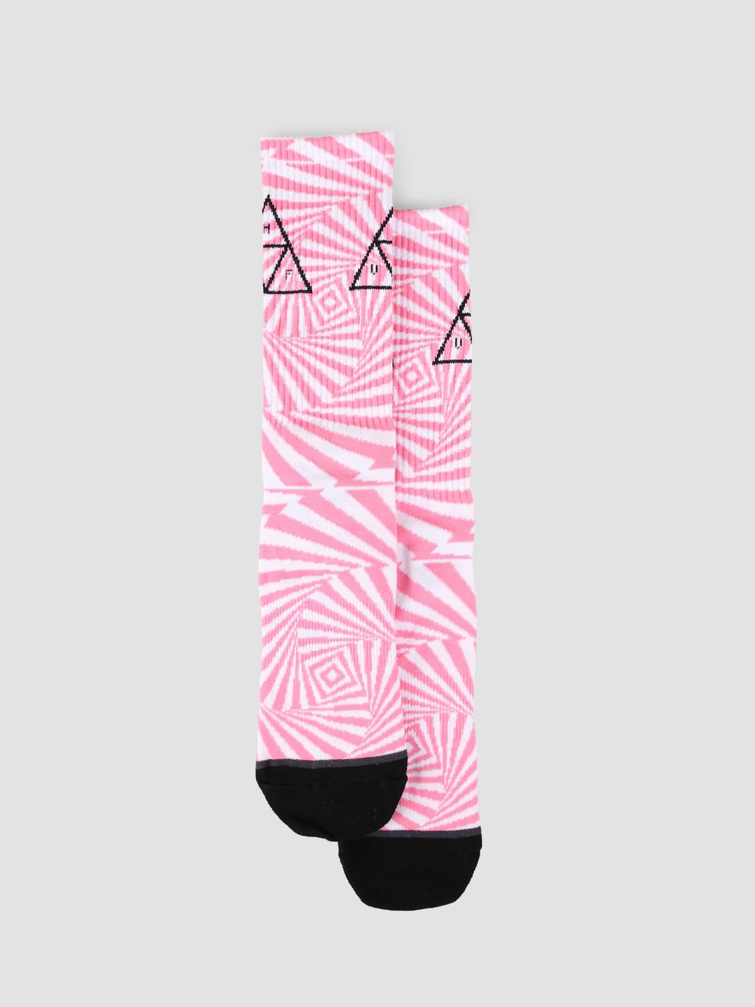 HUF HUF Trance Triangle Sock Fuchsia SK00423