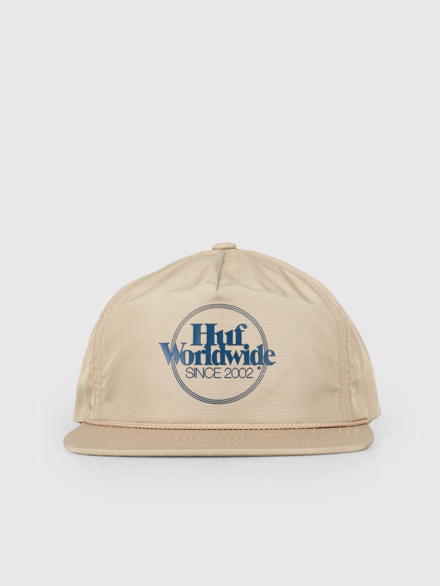 HUF HUF Issue Zip Back Hat Bone HT00361