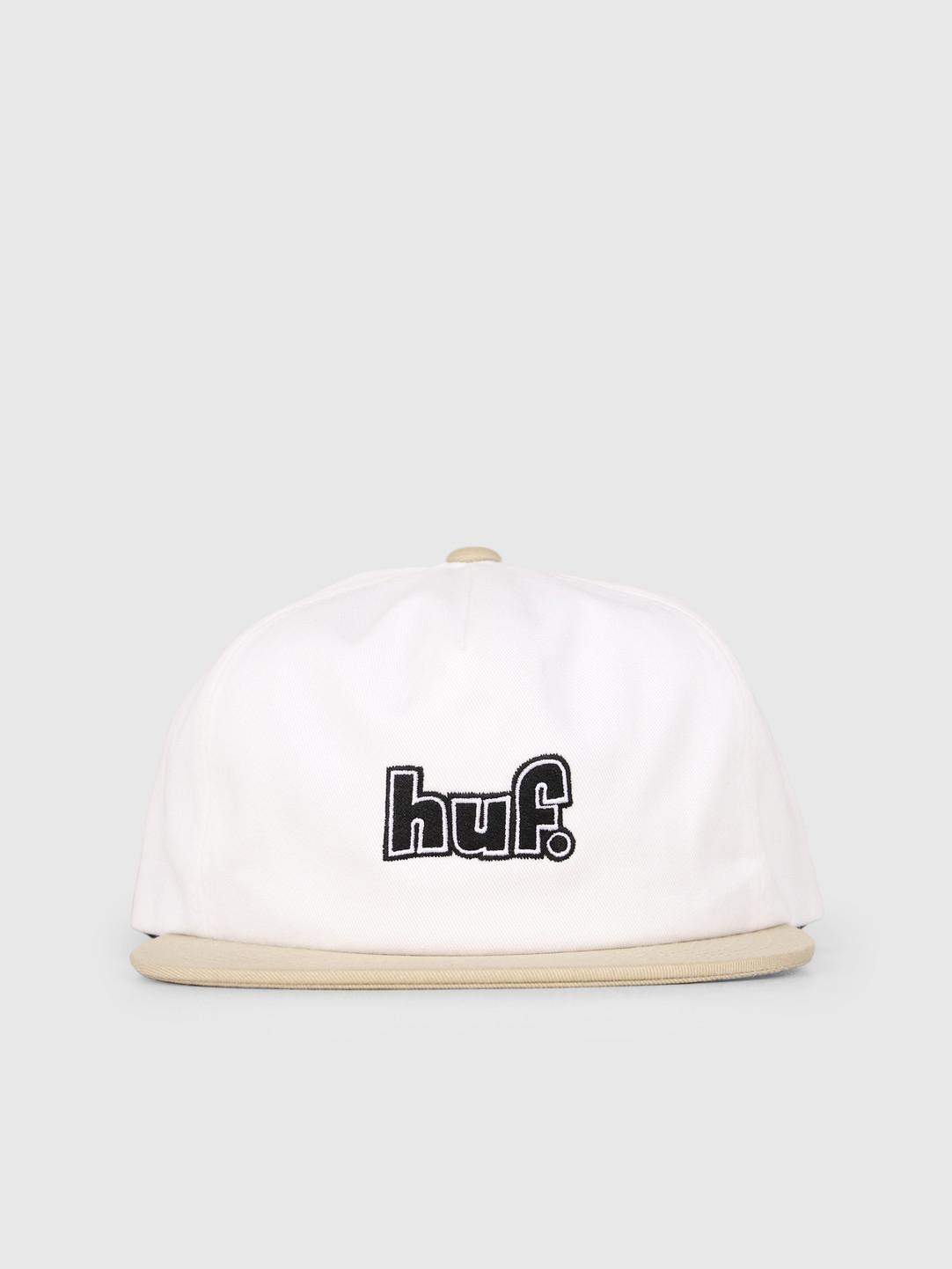 HUF HUF 1993 Logo Strapback Hat White HT00362