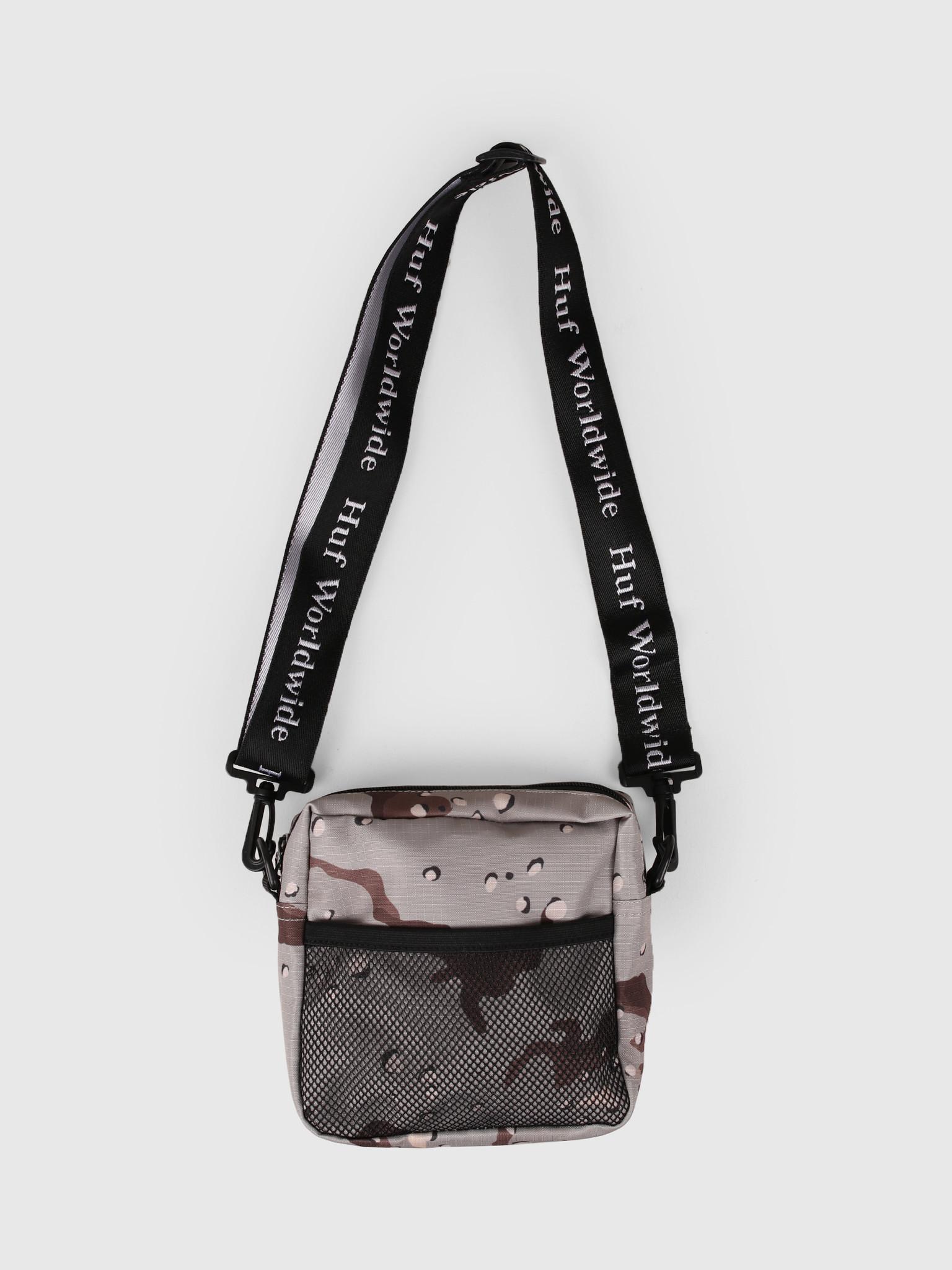 HUF HUF Tompkins Shoulder Bag Camo AC00233