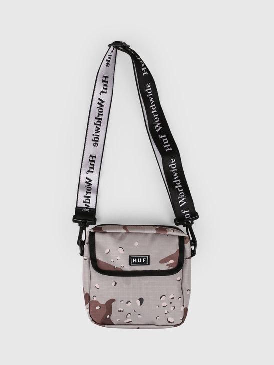 HUF Tompkins Shoulder Bag Camo AC00233