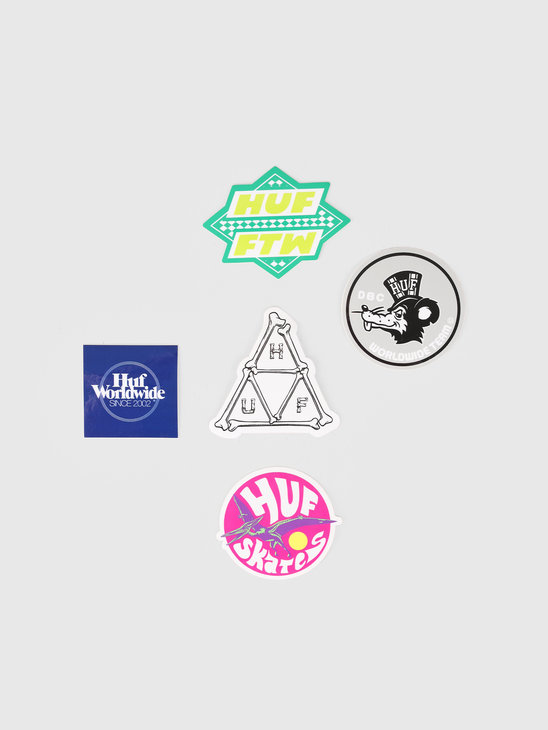 HUF Team Sticker Pack Assorted AC00246