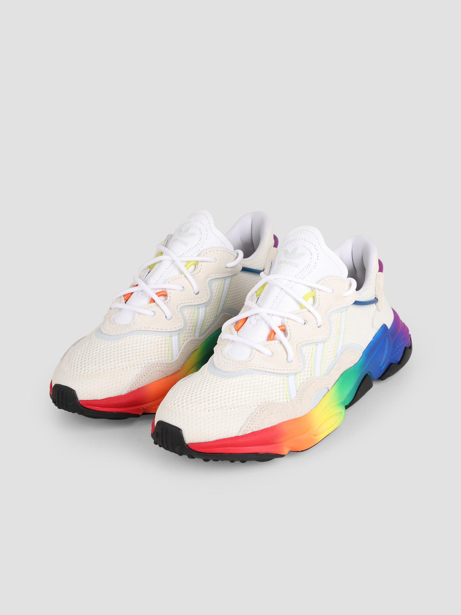 adidas adidas Ozweego Pride Off White Blutin Black Off White EG1076