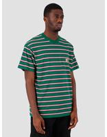Carhartt WIP Carhartt WIP Houston Pocket T-Shirt Stripe Houston Stripe, Dragon I026370