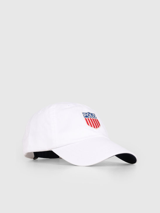 Ralph Lauren Classic Sport Cap White 710746083001