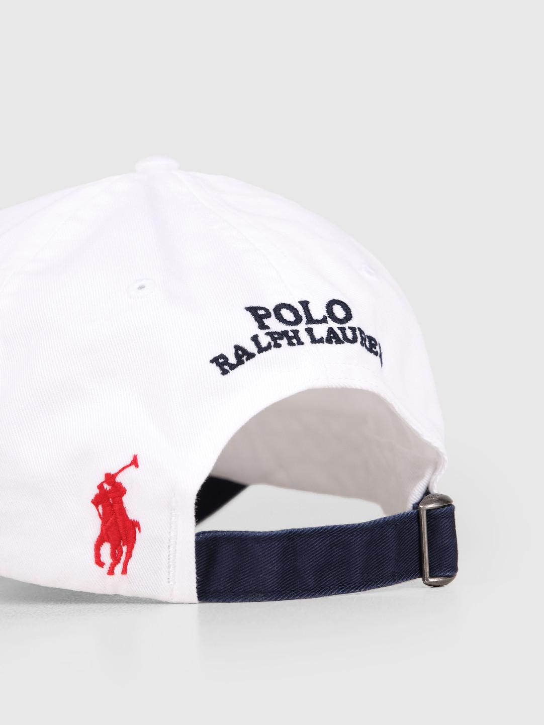 Polo Ralph Lauren Ralph Lauren Classic Sport Cap White 710746083001
