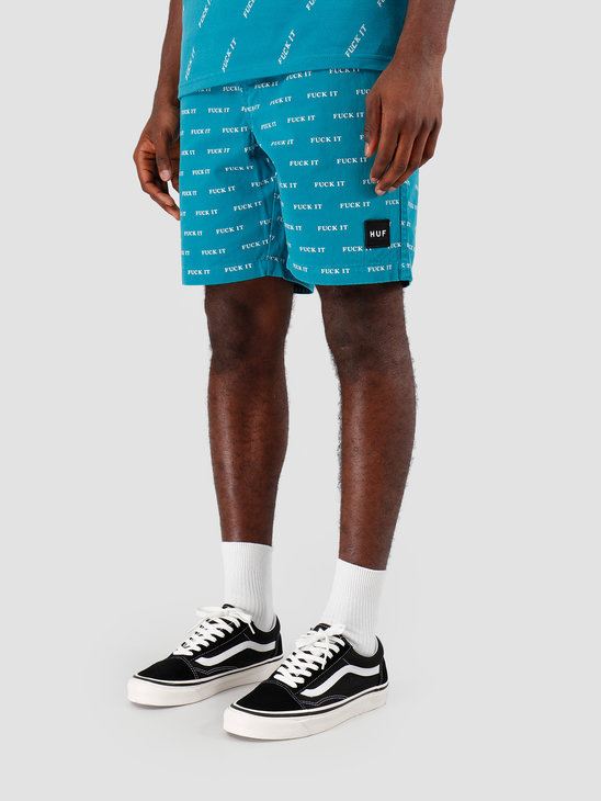 HUF Fuck It Easy Short Biscay Bay PT00086
