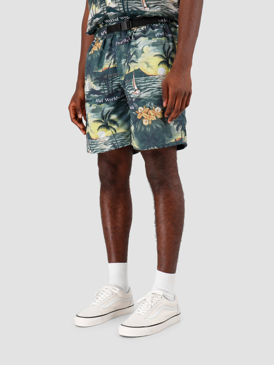 HUF Venice Easy Short Black PT00087