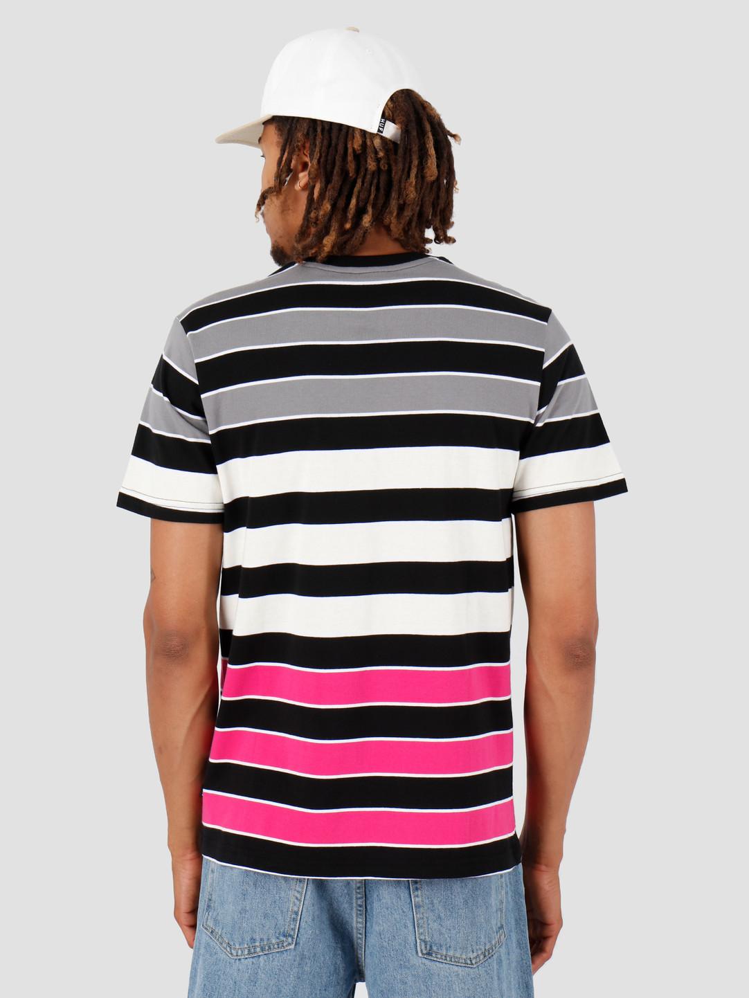 HUF HUF Variant Shortsleeve Knit Top Black KN00101