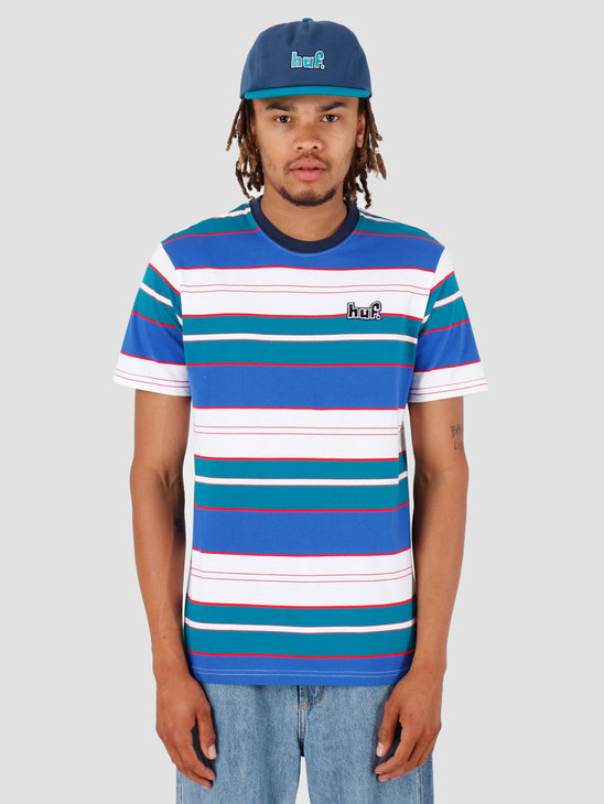 HUF Upland Shortsleeve Knit Top Insignia Blue KN00107