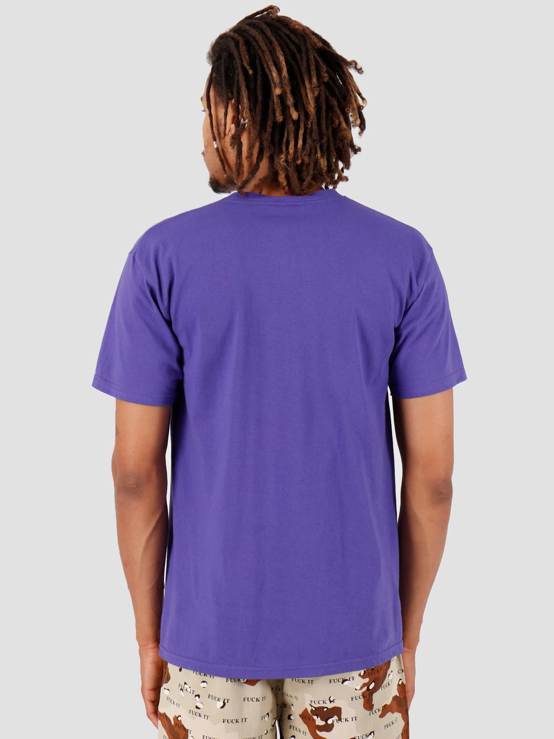 HUF HUF Sigh Shortsleeve Ultra Violet TS00718