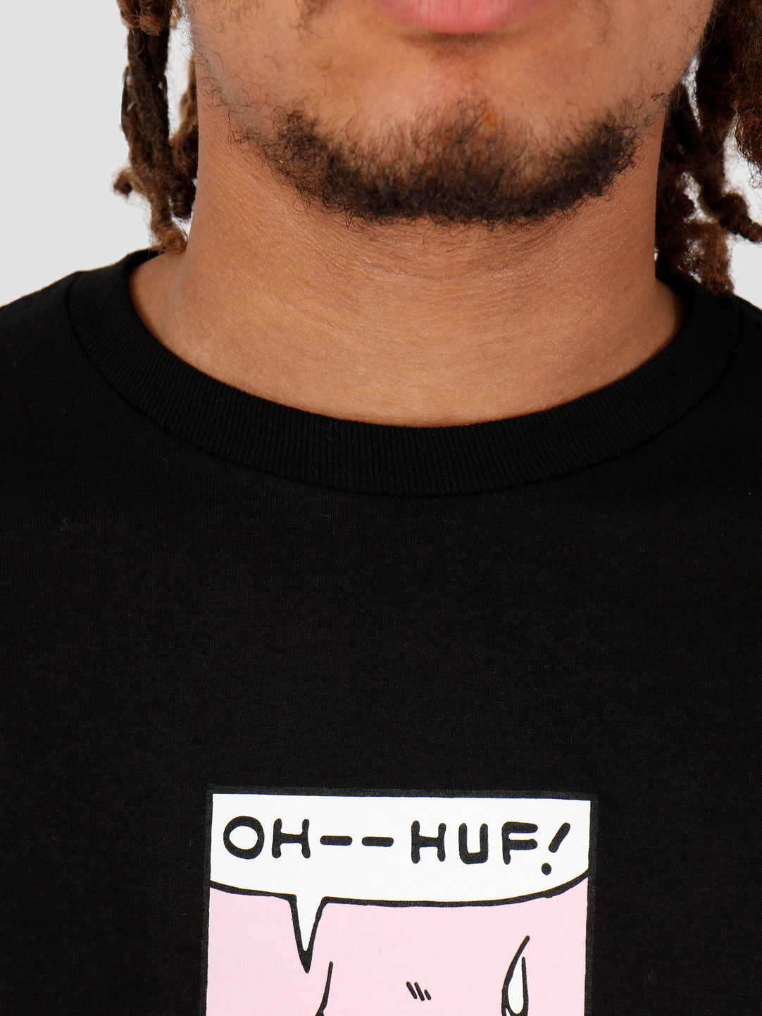 HUF HUF Sigh Shortsleeve Black TS00718