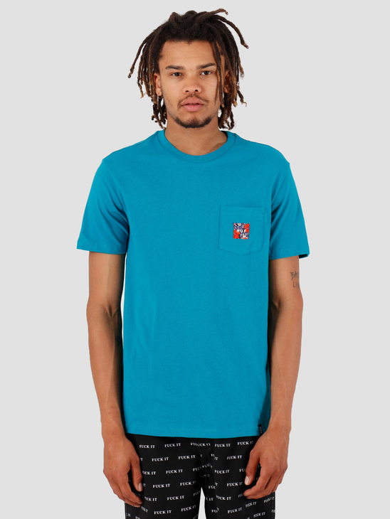 HUF Semitropic Shortsleeve Pocket Biscay Bay TS00711