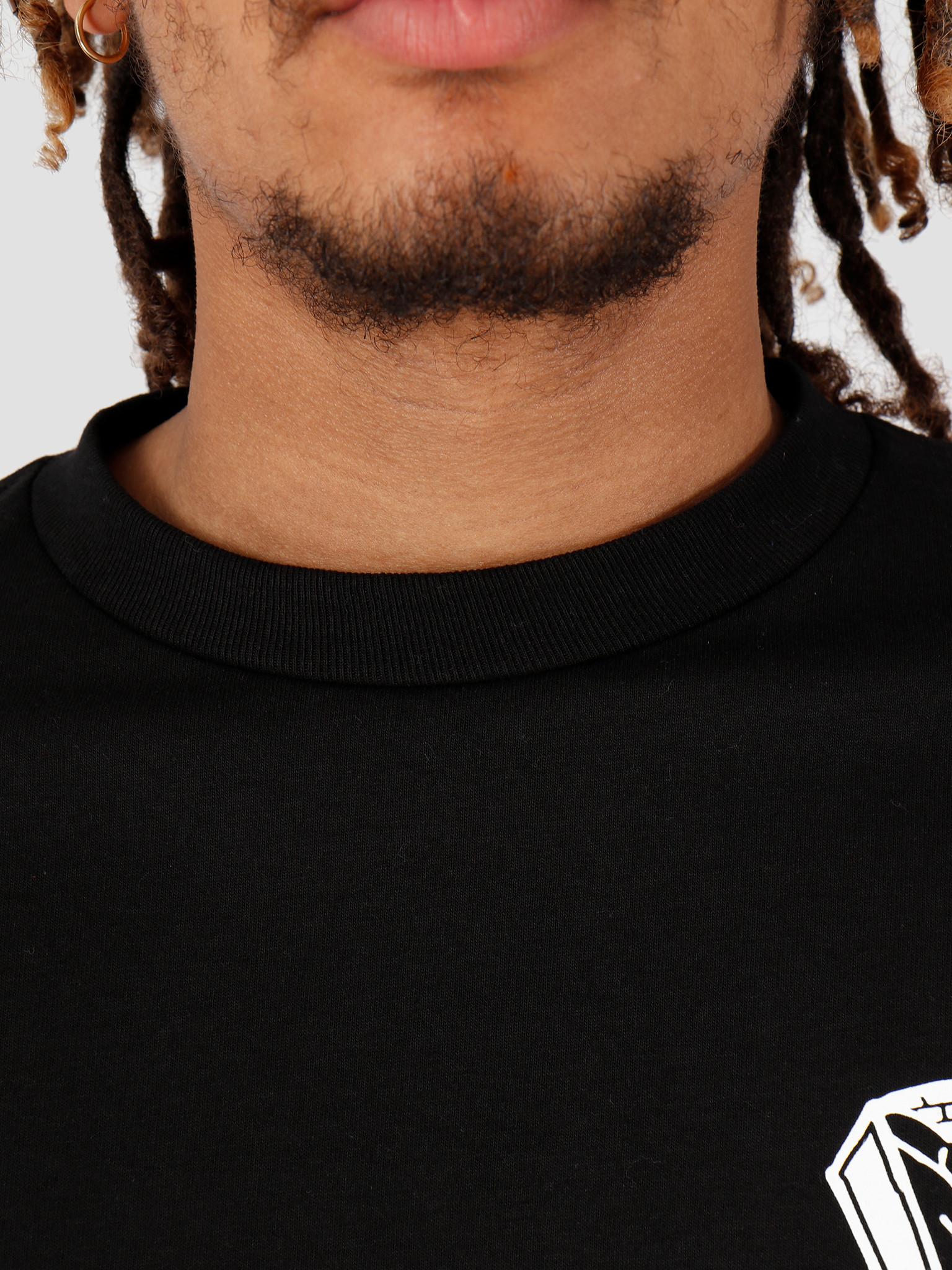 HUF HUF Pavillion Longsleeve Black TS00704