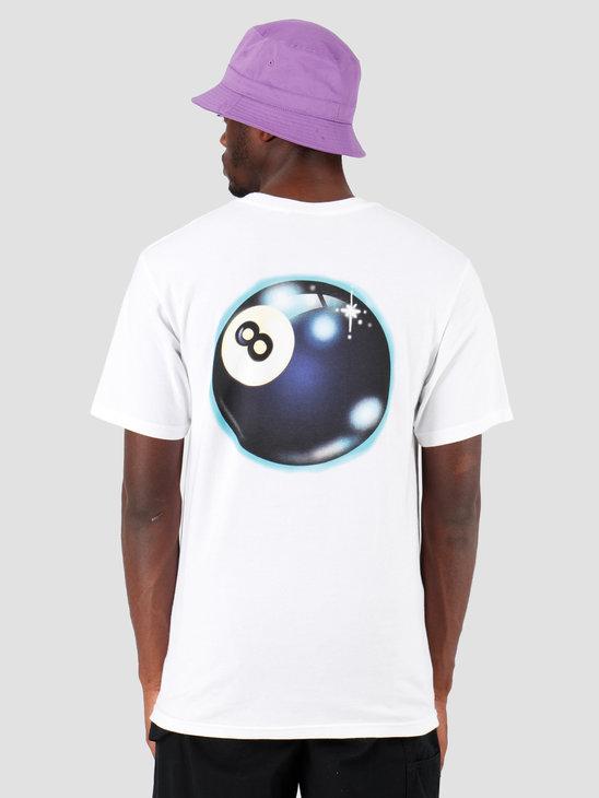 Stussy Mystic 8 Ball T-Shirt White 1201