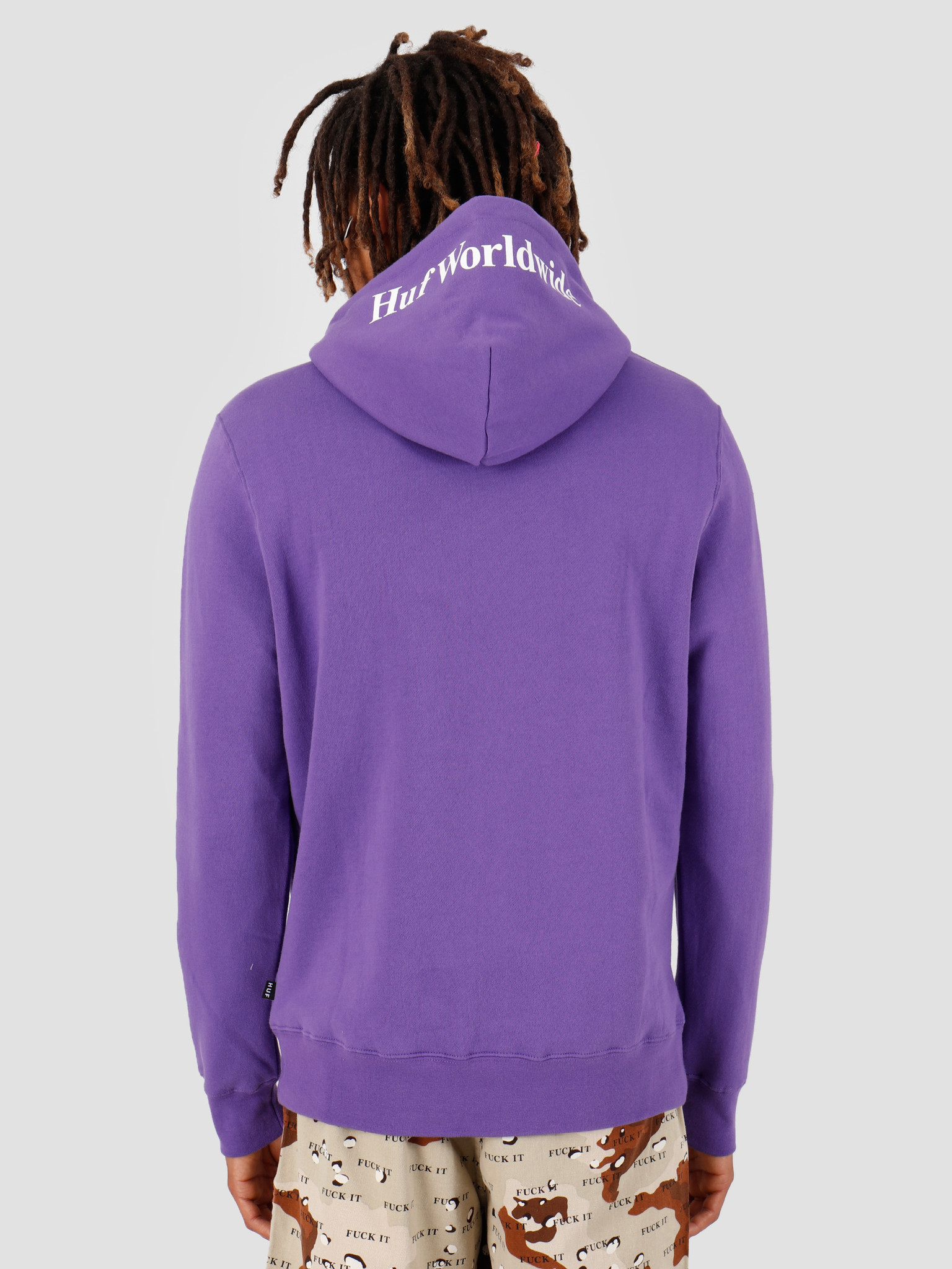 HUF HUF Box Logo PO Hoodie Ultra Violet PF00098