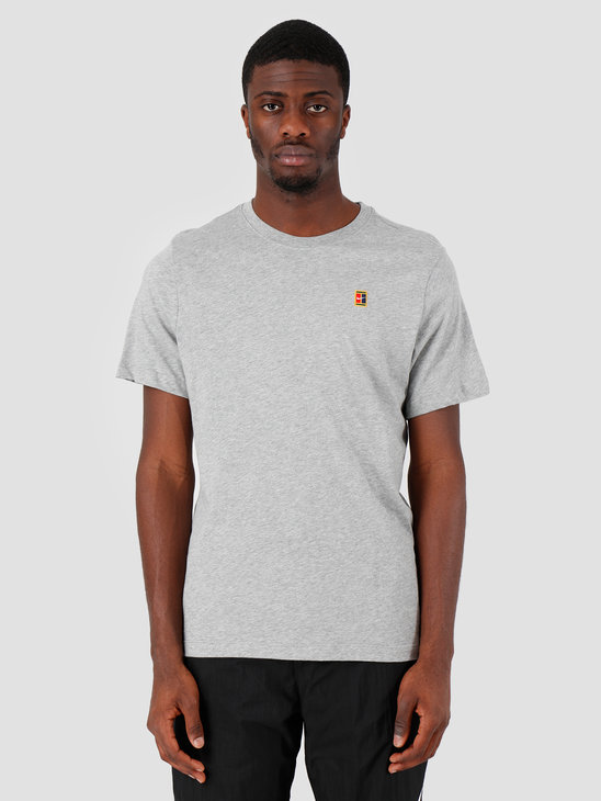 Nike Court T-Shirt Dk Grey Heather Bv5809-063