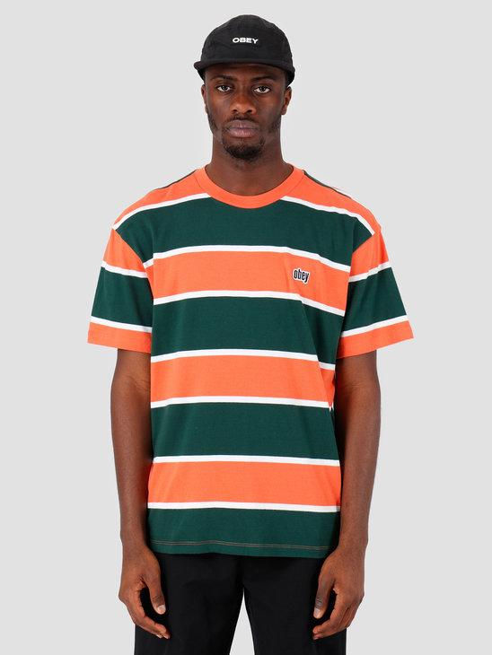 Obey Acid Classic T-Shirt Ember Multi 131080243-EME