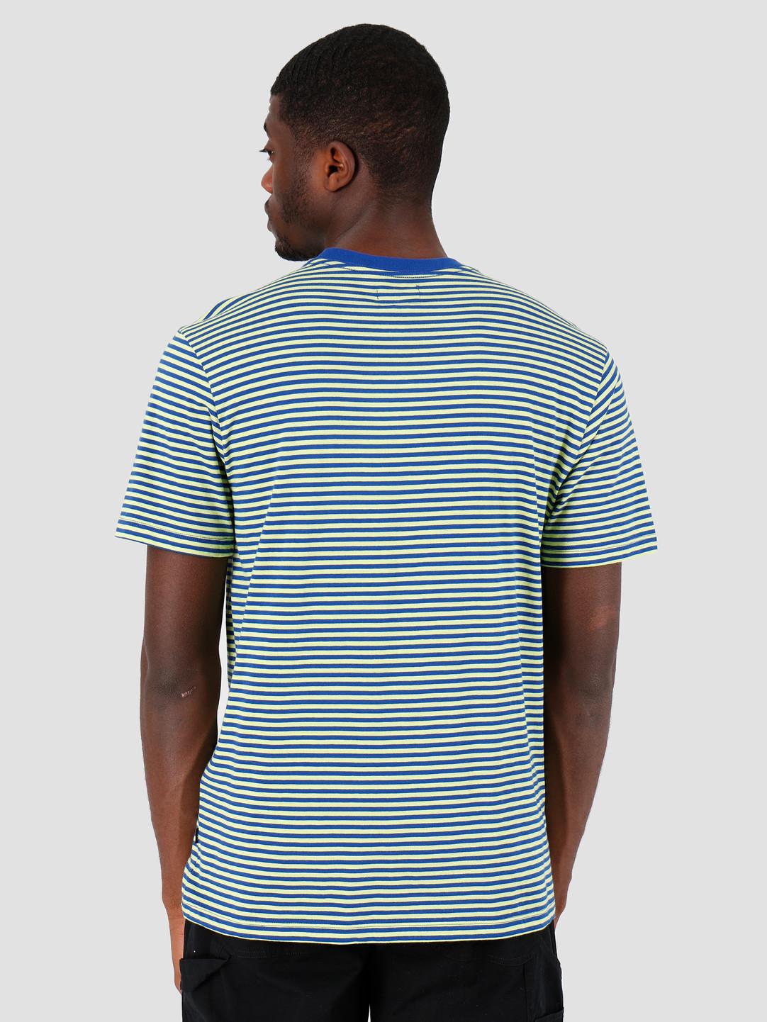 Obey Obey Apex T-Shirt Surf Blue Multi 131080182-SBL