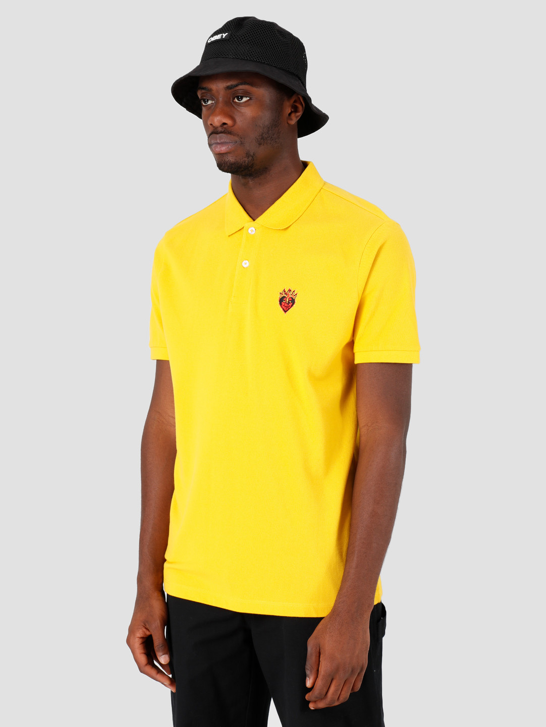 Obey Obey Giant Heart Polo Freesia 131090050-FRE