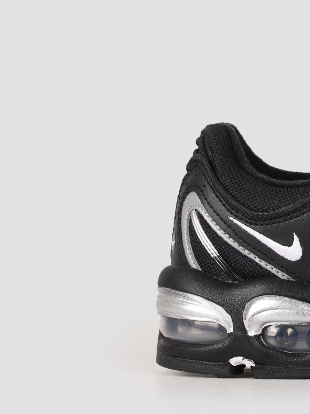 new release release date reliable quality Nike Air Max Tailwind Iv Black White Metallic Silver AQ2567-003 ...