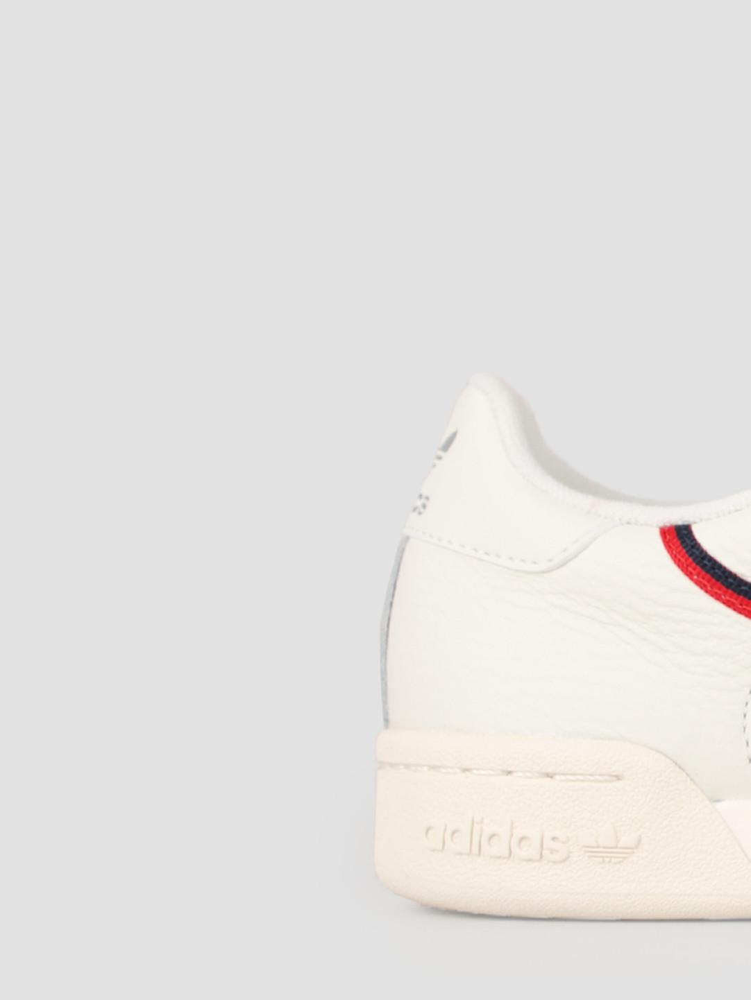 adidas adidas Continental 80 Whitin Owhite Scarle B41680