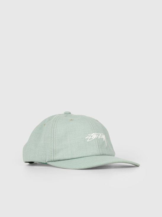 Stussy Su19 Suiting Low Pro Cap Green 0401