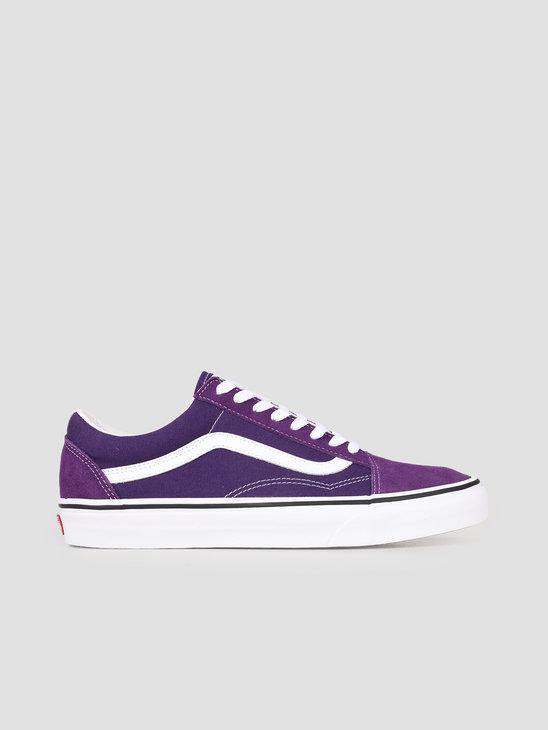 Vans UA Old Skool Violet Indigo True White VN0A4BV5V7F1