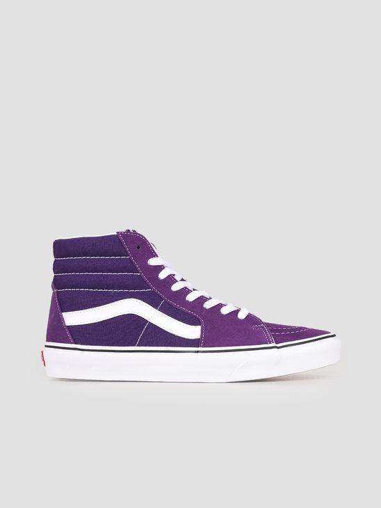 Vans UA Sk8-Hi Violet Indigo True White VN0A4BV6V7F1