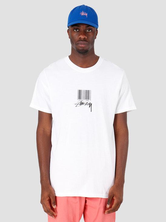 Stussy Barcode T-Shirt White 1201