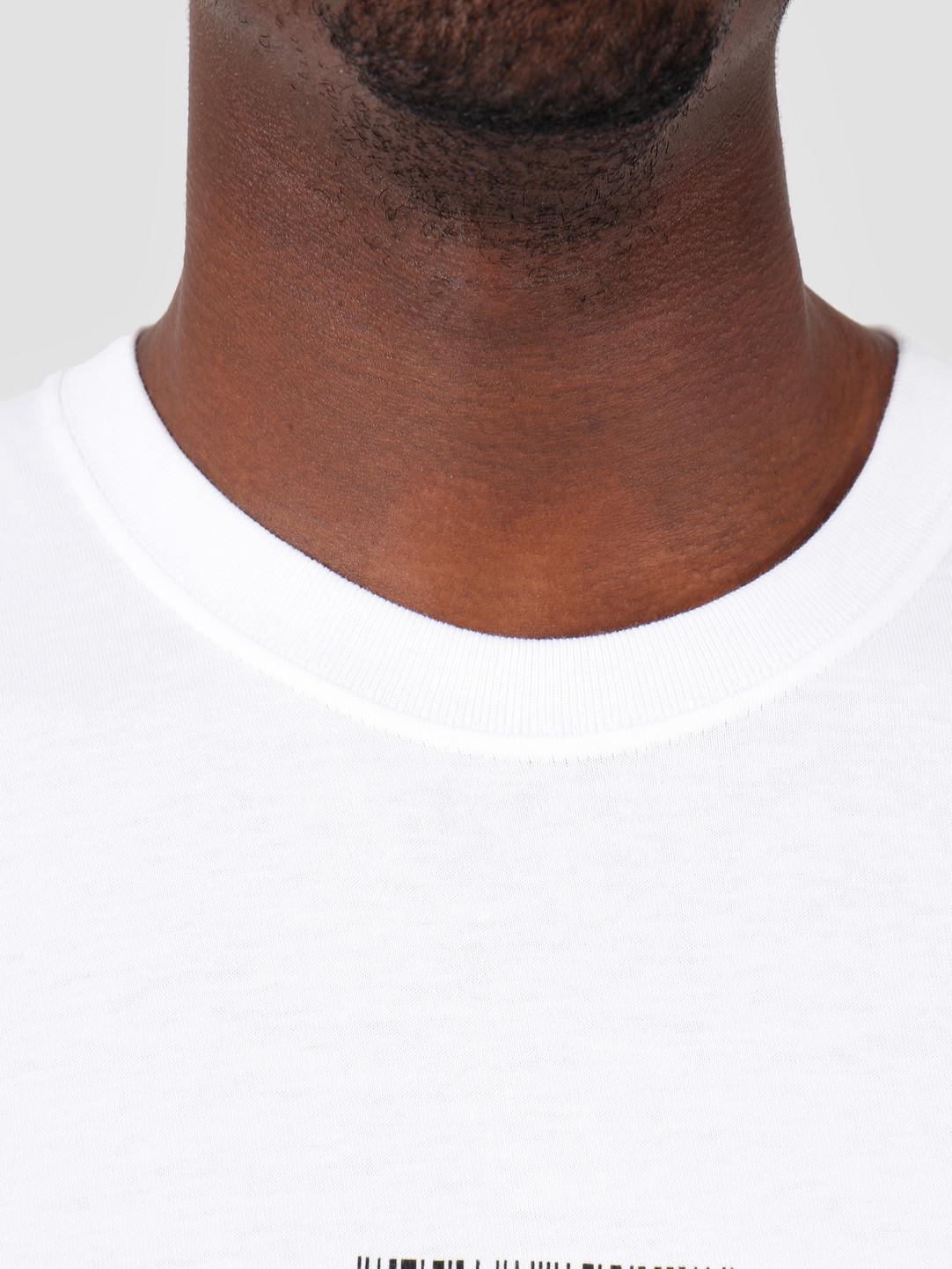 Stussy Stussy Barcode T-Shirt White 1201