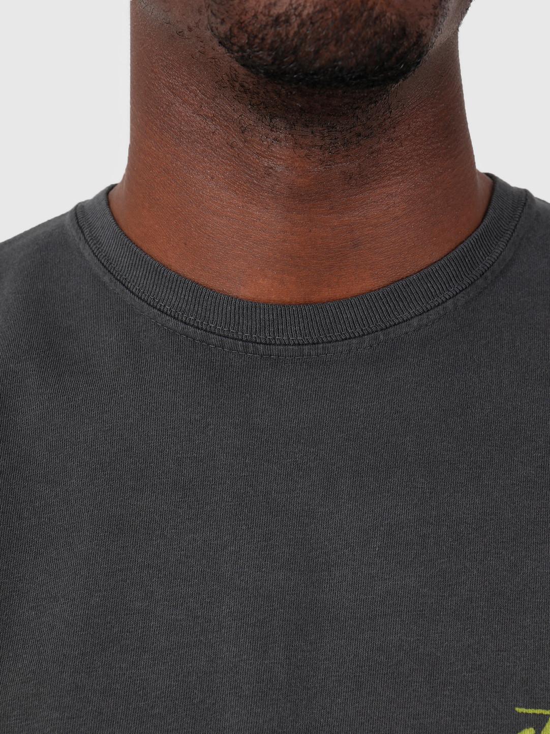 Stussy Stussy Painter Pig Dyed T-Shirt Black 0001
