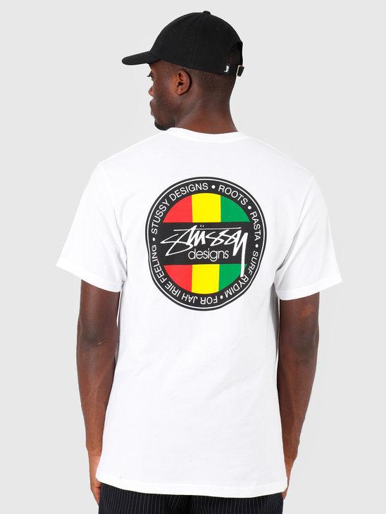 Stussy Surf Dot T-Shirt White 1201