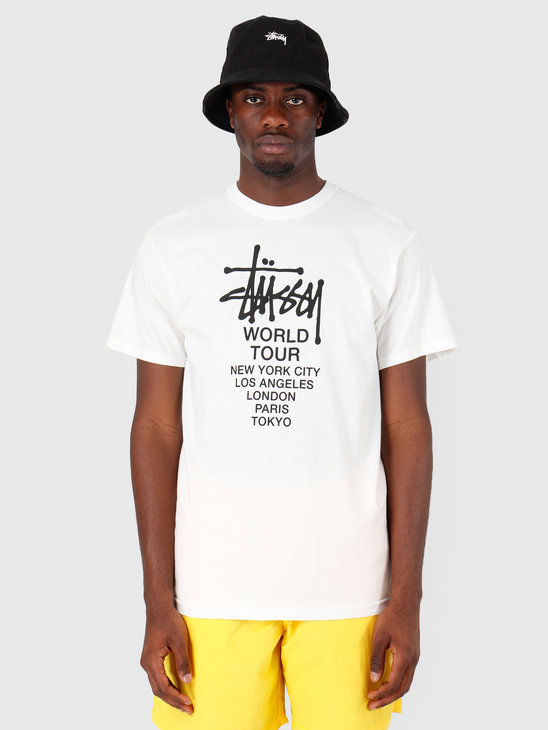 Stussy Tour Pig Dyed T-Shirt Natural 1002
