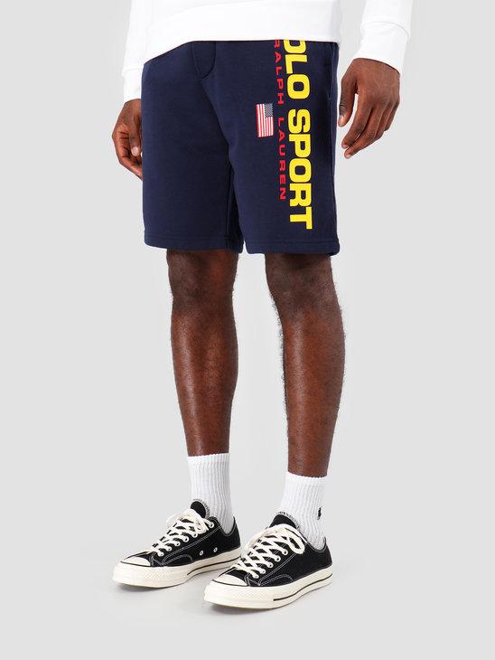 Ralph Lauren Neon Fleece Short Navy 710750457002