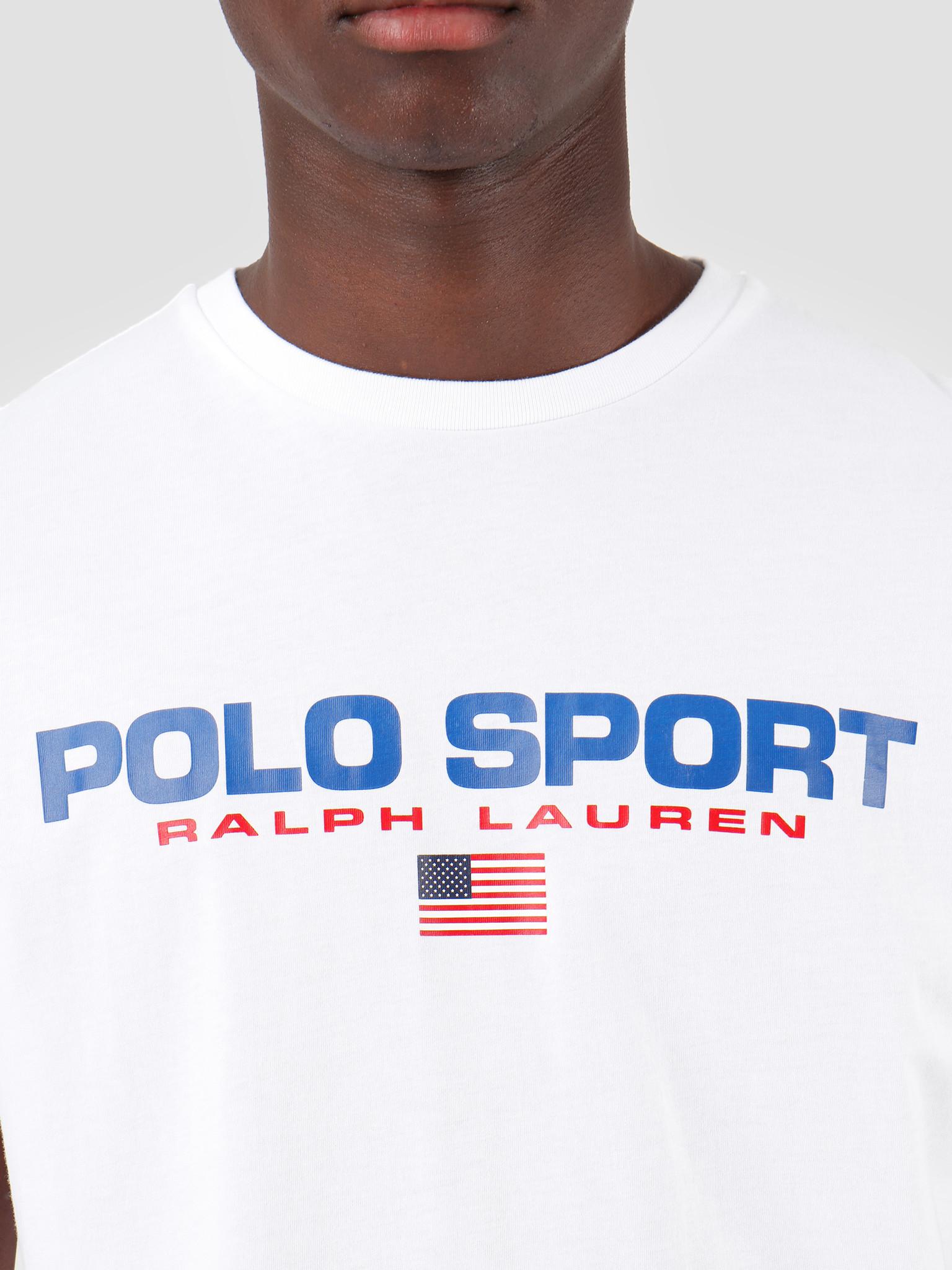 Polo Ralph Lauren Ralph Lauren 26 1 Jersey Shortsleeve T-Shirt White 710750444002