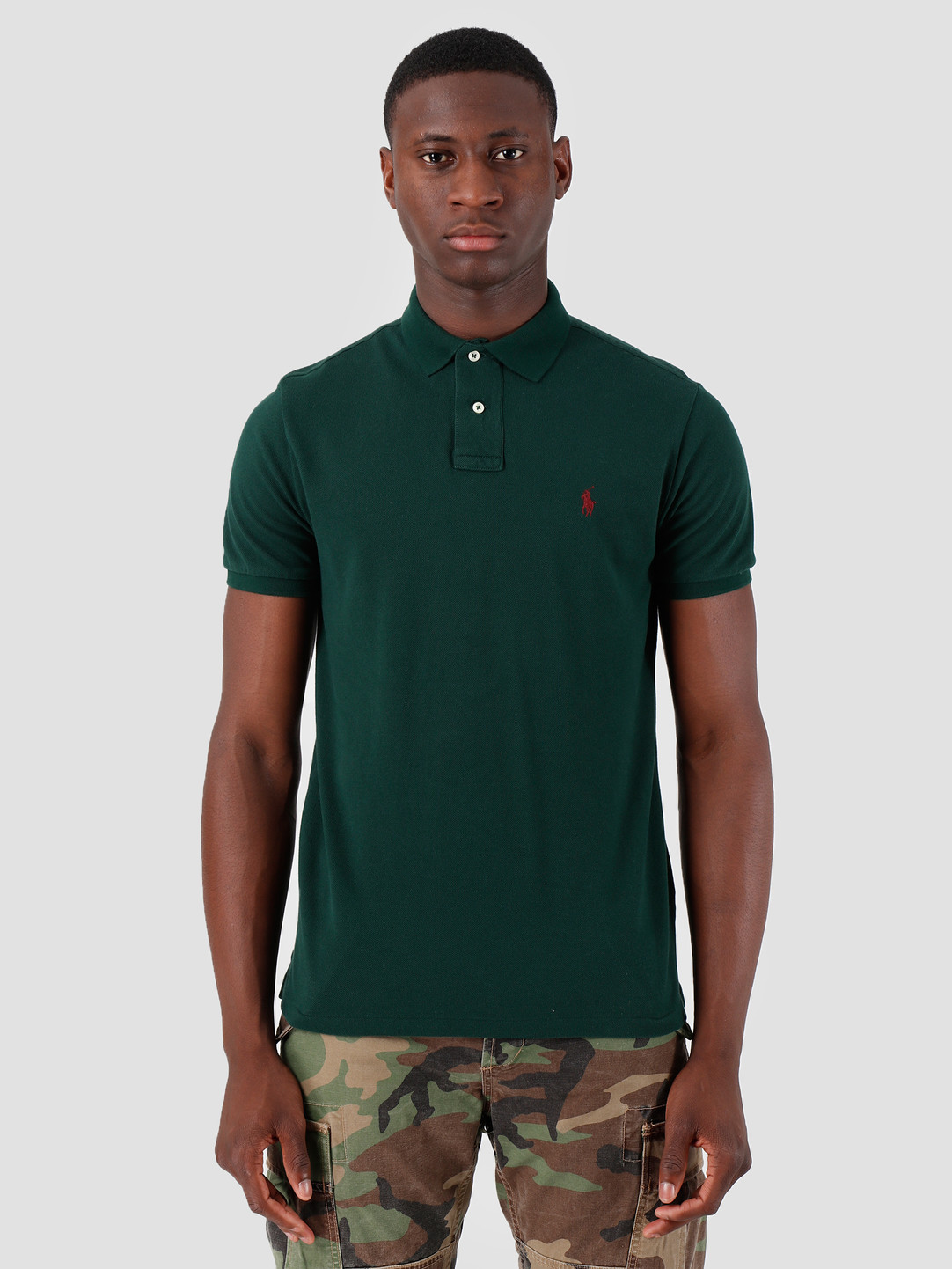 Polo Ralph Lauren Ralph Lauren Basic Mesh Shortsleeve Green 710680784115