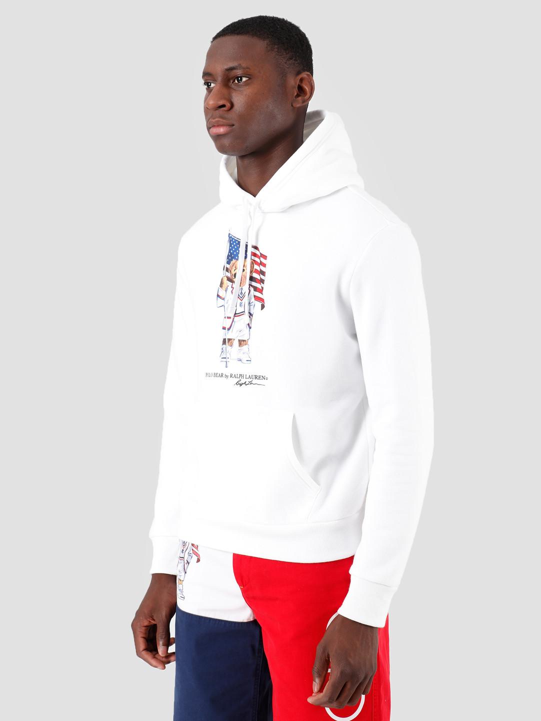Polo Ralph Lauren Ralph Lauren Magic Fleece Hoodie White 710746438001