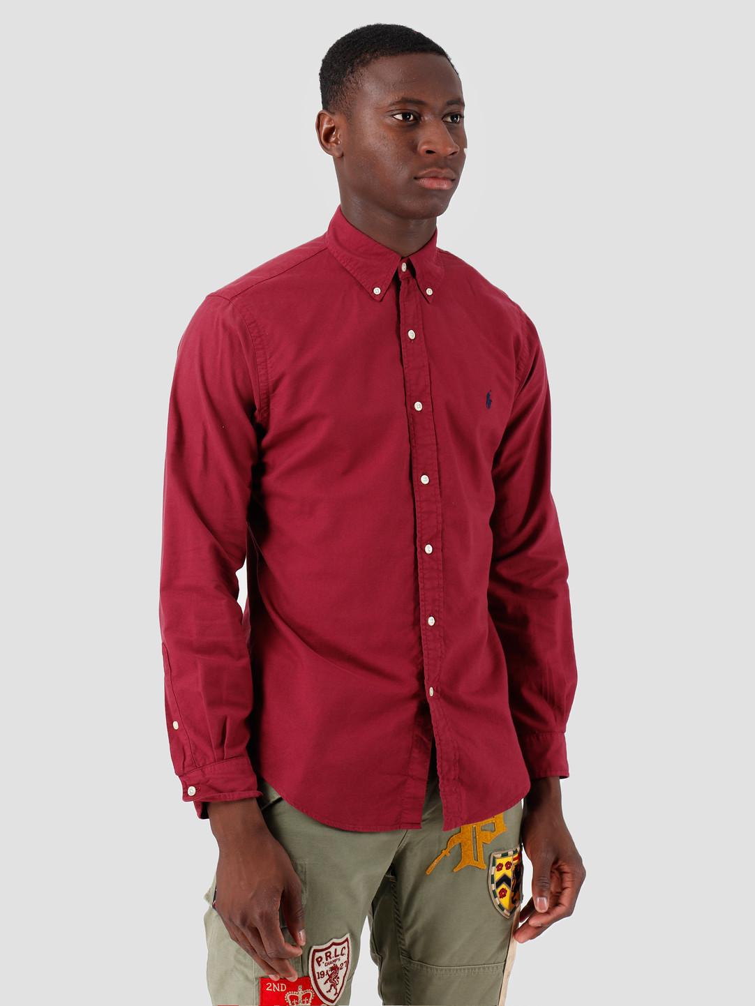 Polo Ralph Lauren Polo Ralph Lauren Oxford Longsleeve Sport Shirt Red 710758082004