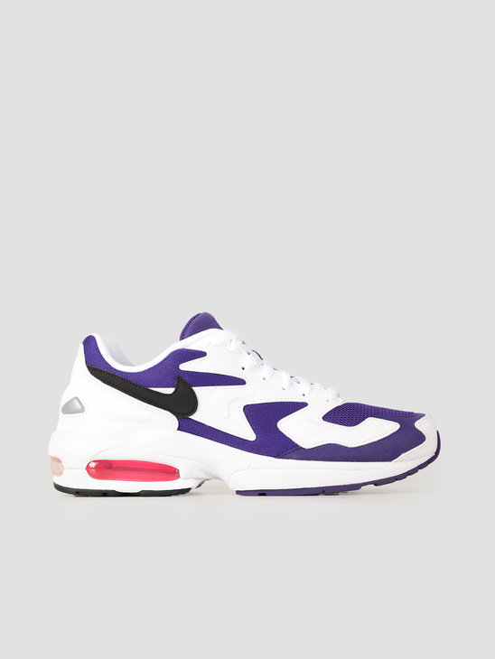 Nike Air Max 2 Light White Black Court Purple Hyper Pink AO1741-103