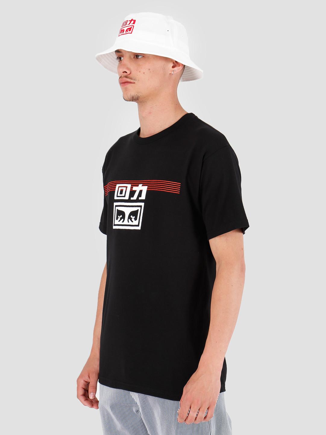 Obey Obey x Warrior T-Shirt Black 163082172E-BLK