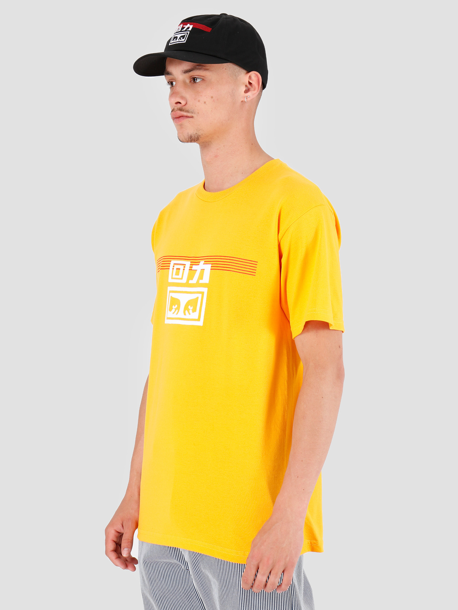 Obey Obey x Warrior T-Shirt Gold 163082172E-GLD