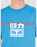 Obey Obey x Warrior T-Shirt Sky Azure 163082172E-SKY