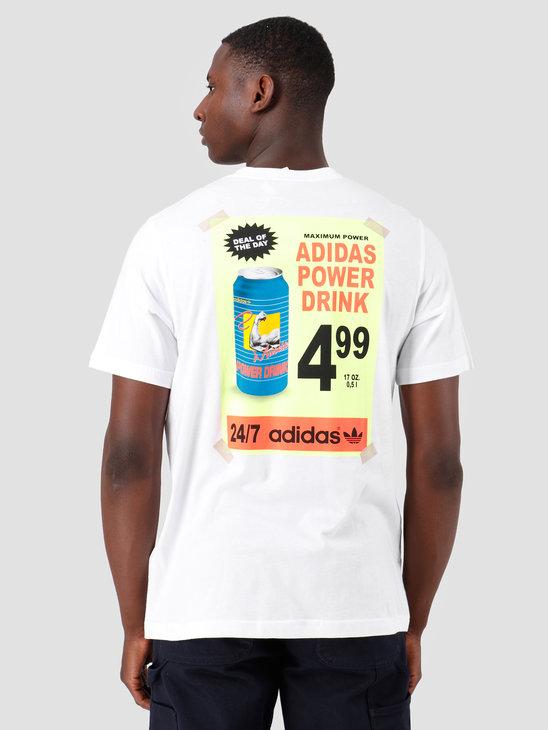 adidas Bodega Poster T-Shirt White ED7066