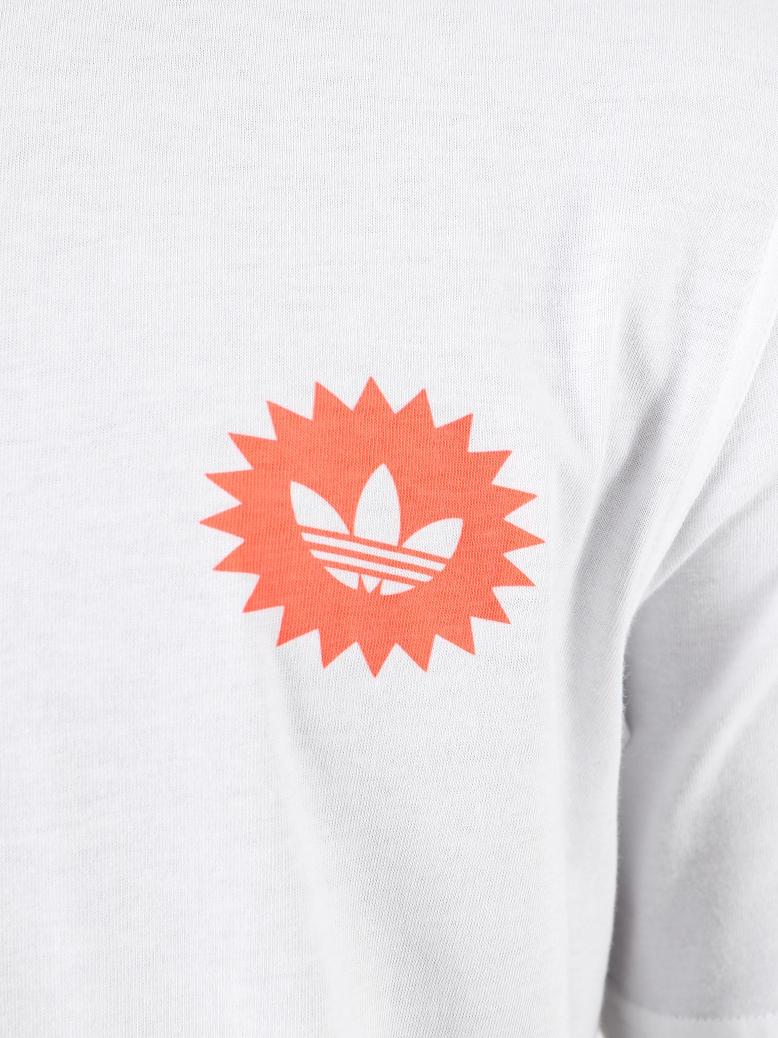 adidas adidas Bodega Poster T-Shirt White ED7066