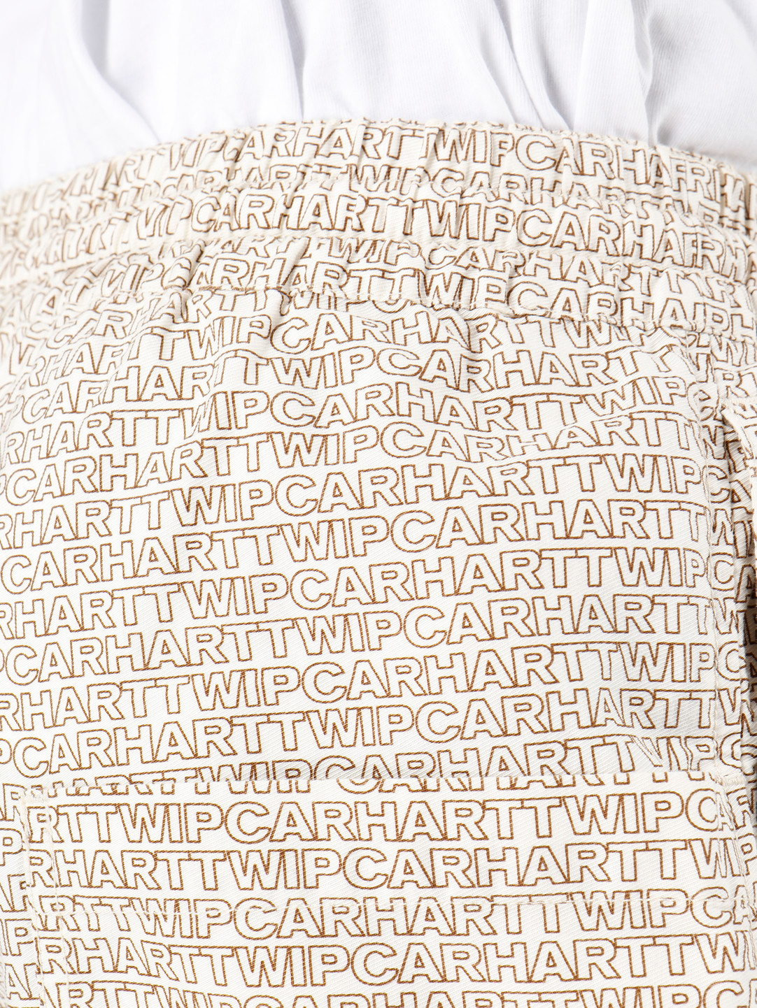 Carhartt WIP Carhartt WIP Typo Short Typo Print Wax Hamilton Brown 62034235