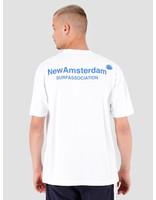 New Amsterdam Surf association New Amsterdam Surf association Logo T-Shirt White 2018011