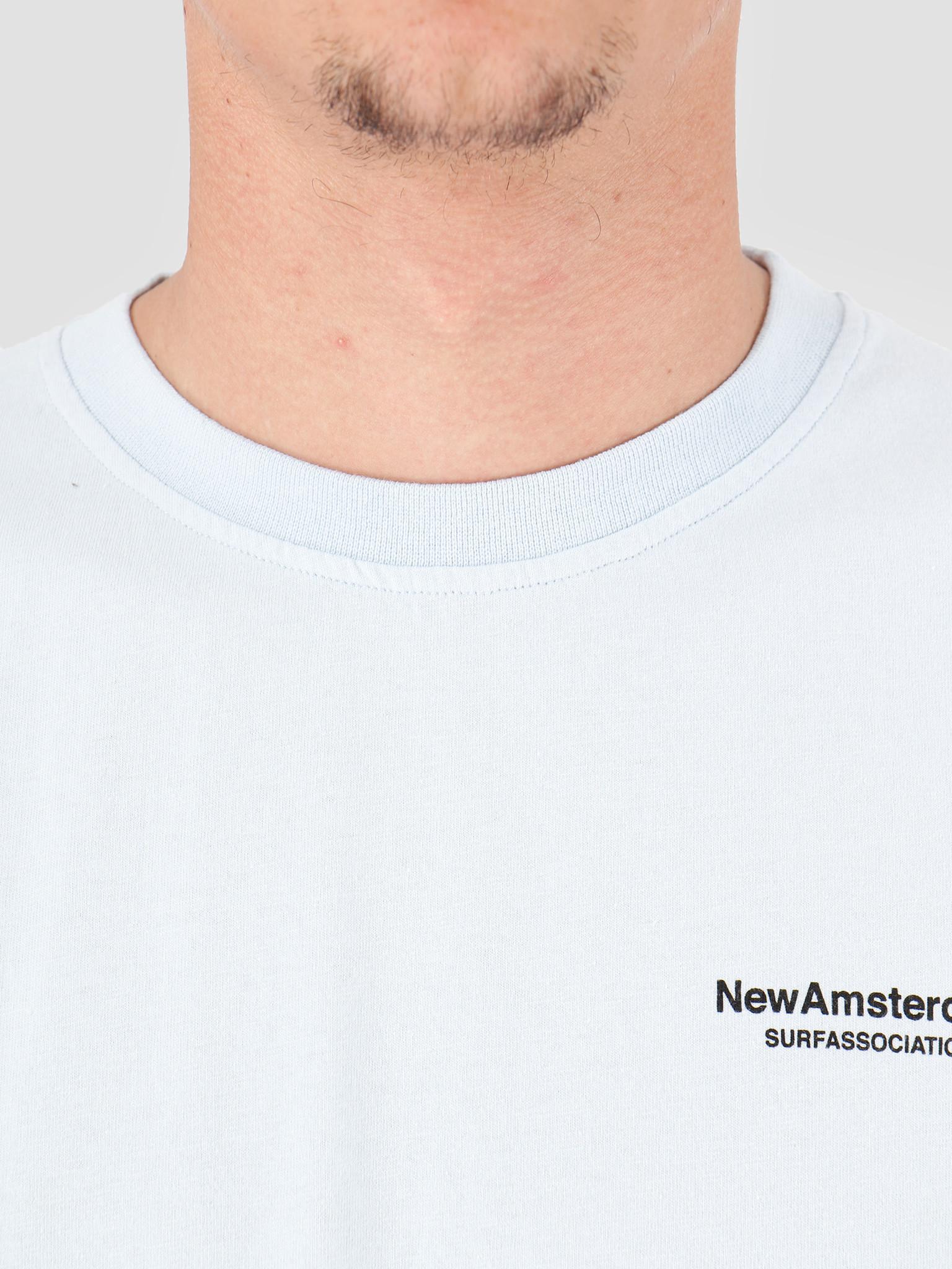 New Amsterdam Surf association New Amsterdam Surf association Wijk T-Shirt Light Blue 2018002