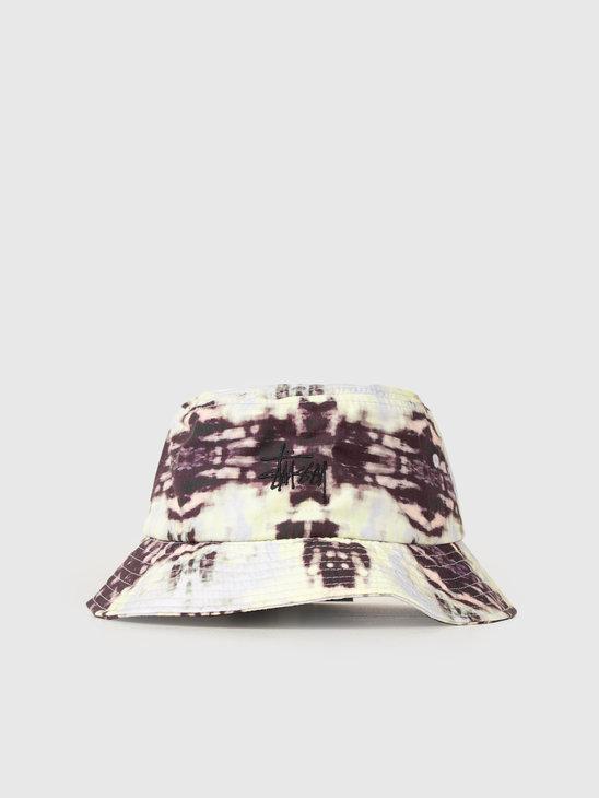 Stussy Leary Bucket Hat Black 0001